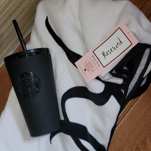kate spade Starbucks bundle beach towel